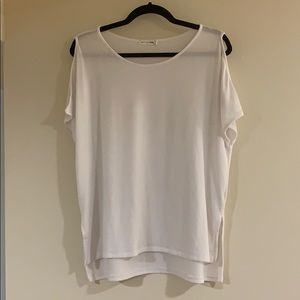 Rag and bone jean white tshirt